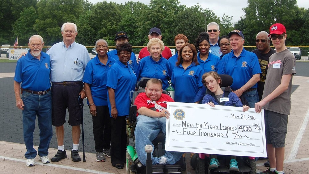 Greenville Civitans support Miracle League