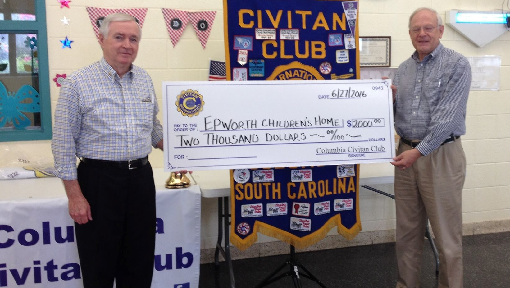 Columbia Civitans support Epworth Childrens Home