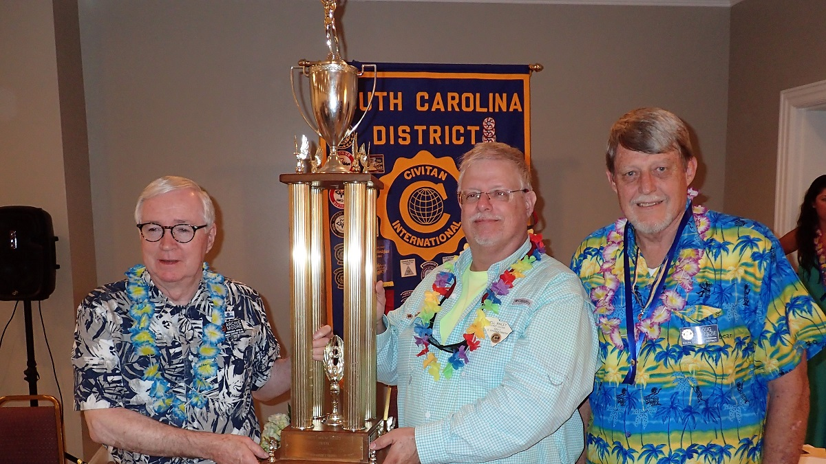 Columbia Club wins Governor's Trophy